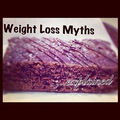 5 common weight loss myths that you may want to stay clear of. Fitness Diet, Health Fitness, Get In Shape, How To Stay Healthy, Fat Burning, Healthy Living, Weight Loss, Eat, Workouts