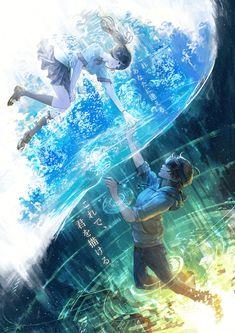 You Shimizu Mobile Wallpaper - Zerochan Anime Image Board Anime Scenery Wallpaper, Anime Artwork, Anime Art Girl, Manga Art, Anime Love, Mode Halloween, Couple Manga, Animé Fan Art, Anime Galaxy