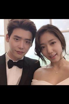 Park shin hye and lee Jung Suk