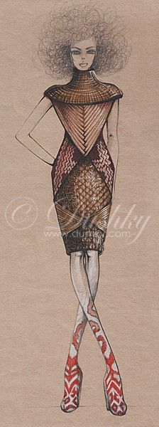 reis 7 by dushky.deviantart.com on @deviantART #dushky #fashionillustration