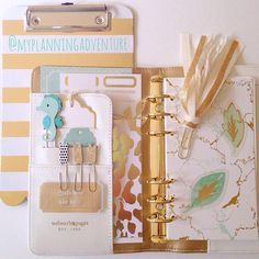 Planner Ideas and Accessories ❤ Finally trying out my white @websterspages Color Crush! #planner #prettyplanners