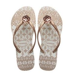eedb51ce03bbb The havaianas Slim Lace flip flops are perhaps my all-time favorite style  on the line. The rose gold is gorgeous and really sets off the Brazilian  lace .
