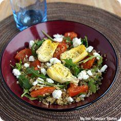 Mediterranean Quinoa Salad Recipe - RecipeChart.com
