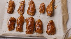 Best Crack Chicken recipe   crispy, homemade, baked chicken tenders tossed in a yummy barbecue sauce