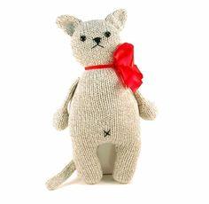 Greta the Captivating Cat Knitting Pattern Pdf