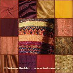 So bunt und vielseitig geht es in der Mode zu! Stoffe – Farben, Muster, Materialien und Kombinationen Einige Beispiele ausgewählt aus den neuen Trendkollektionen von Herbst/Winter 2016 bis ei…