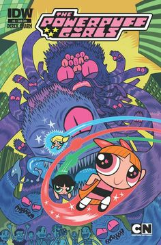 The Powerpuff Girls (IDW Publishing, 2013) #8 Subscription Cover