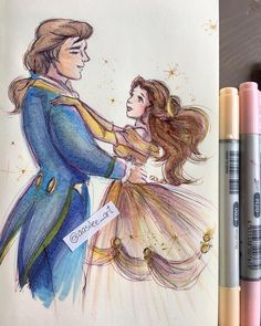 Beauty and the Beast #disney #fanart #disneyfanart