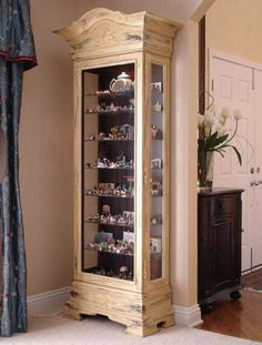 curio cabinet decorating ideas - Google Search