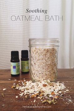 Soothing Oatmeal Bath Recipe | Herbal Academy of New England