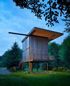 TheSol Duc Cabin designed byOlson Kundig Architects is a steel embraced cabin in Olympic Peninsula, Washington, USA. The purpose of the project was to create a shelter surrounded by wilderness that could offer both the feeling of protection and intimacy when such is required and to enhance the connectivity with the natural environment. The cabinRead more