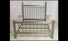 Martel Stainless Steel Bed Frame