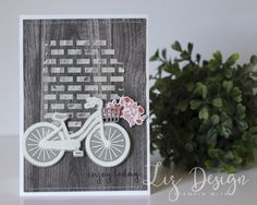 Stampin with Up Bike Ride Card by Stampin with Liz Design