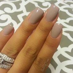 DND gel polish Seasoned Beige Nail Design, Nail Art, Nail Salon, Irvine, Newport Beach