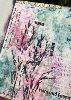 PaperArtsy: 2016 #21 Feeling Blue and Pink Too {by Claire Snowdon}