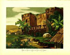 Ruinas del Castillo de  Cristo balón Colon