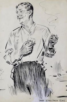 View Gentleman in Partial Evening Dress by James Montgomery Flagg on artnet. Browse more artworks James Montgomery Flagg from The Illustrated Gallery. History Of Illustration, Vintage Illustration Art, Vintage Artwork, Life Drawing, Figure Drawing, Character Costumes, Character Art, Monochromatic Art, Romantic Paintings