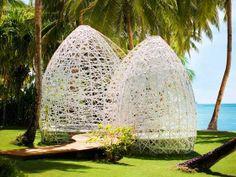 "Tropical Dreams: Philippines: DEDON Island Resort - Siargo Island.  BBC Boracay: ""Outstanding design in harmony with nature....."""