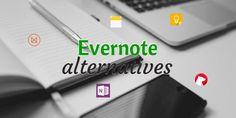 Comment Evernote se compare-t'il à OneNote, Google Keep, Bear Notes, Apple Notes, Framanotes et Milanote ? Petit tour d'horizon des alternatives.
