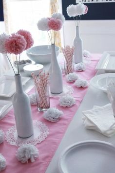 22 DIY Baby Shower Ideas for Girls on a Budget  Click for Tutorial