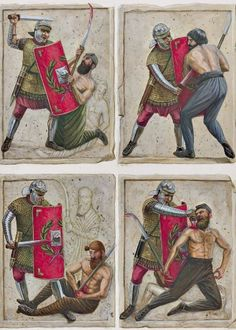 Murals showing the final moments of a Dacian warrior. Military Art, Military History, Ancient Rome, Ancient History, Roman Legion, Roman Soldiers, Roman History, Picts, Roman Empire