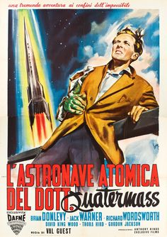 Italian poster for THE QUATERMASS XPERIMENT