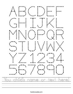 Printables Abc Tracing Worksheet handwriting worksheets the ojays and on pinterest abc tracing worksheet free printable you childs name or text
