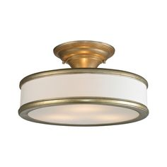 Buy the Elk Lighting Aged Silver Direct. Shop for the Elk Lighting Aged Silver Clarkton 3 Light Semi-Flush Ceiling Fixture and save. Ceiling Fixtures, Light Fixtures, Elk Lighting, Interior Lighting, Lighting Ideas, Light Bulb Bases, Glass Material, Fabric Shades, Drum Shade
