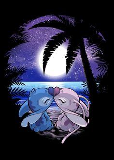 Aloha at ia 'oe Cartoons Poster Print Cartoon Wallpaper Iphone, Disney Phone Wallpaper, Cute Wallpaper Backgrounds, Cute Cartoon Wallpapers, Love Wallpaper, Cool Wallpapers For Phones, Beach Wallpaper, Iphone Backgrounds, Stitch Disney