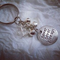 Check out this item in my Etsy shop https://www.etsy.com/listing/473230779/handmade-silver-personalized-keychain