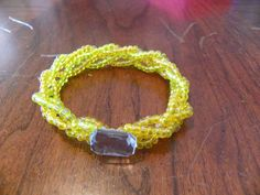 Bold and Braided Seed Bead Bracelet