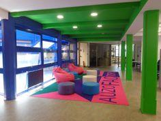 proyecto área de descanso Auzo Factory La Cantera, Bilbao Bilbao, Basketball Court, Spaces, Park, Renovation, Projects, Parks
