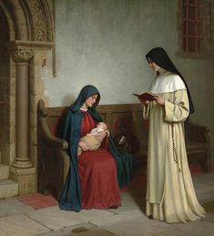 Maternity by Edmund Blair Leighton
