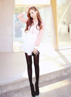 pretty ulzzang...so slim!