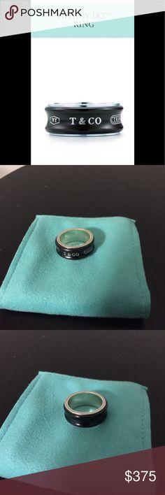 Tiffany & Co. Tiffany & Co. titanium ring. Tiffany & Co. Jewelry Rings