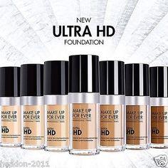 Neu für Make Up For Ever Ultra HD Grundierung 30ml 17 farbe optionen in Beauty & Gesundheit, Make-up, Teint | eBay