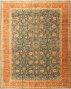 Antique Tabriz Persian Rug 41622 Detail/Large View - By Nazmiyal