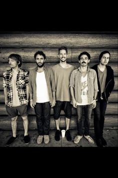 Local Natives! love all them! and love their style! i try to sometimes take inspiration from them but girlie spice it up!