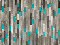 Patchwork rug with geometric shapes RIDGEVILLE Natural Materials Collection by Serge Lesage Tapis Design, Patchwork Rugs, Lesage, Modern Carpet, Natural Materials, Decoration, Geometric Shapes, Textiles, Nature