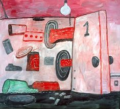 Inside - Outside, 1977 - Philip Guston