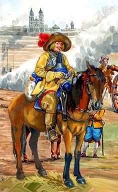 Swedish cavalry. Thirty Years War