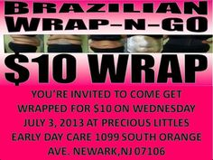 #wrap #newark Email me at njciticoutur@gmail.com for your Vip session