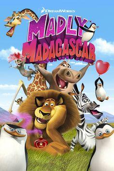 Madly Madagascar Movie Poster - Ben Stiller, Jada Pinkett-Smith, Chris Rock  #MadlyMadagascar, #MoviePoster, #CameronHood, #DavidSoren, #KidsFamily, #WillFinn, #BenStiller, #ChrisRock, #JadaPinkettSmith