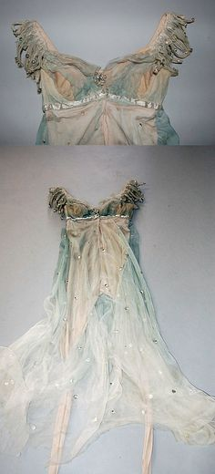 dyed watercolor fabric -- Margot Fonteyn's costume from `Ondine' designed by Lila De Nobili, 1958 Margot Fonteyn, Tutu Costumes, Ballet Costumes, Olaf Costume, Fairy Costumes, Ballet Russe, Vintage Outfits, Vintage Fashion, Dress Up