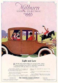 Milburn Electric Automobiless -1917B