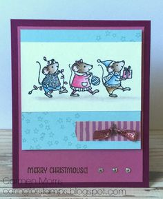 Stampin' Up! stamp set Merry Mice.