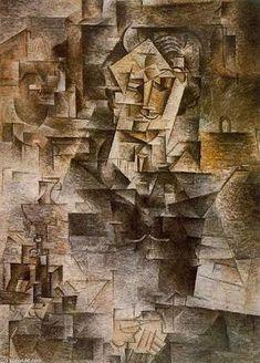 Retrato de Daniel-Henry Kahnweiler - Pablo Picasso (1910)