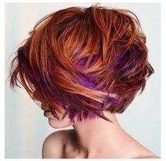 Red and purple! Love it!