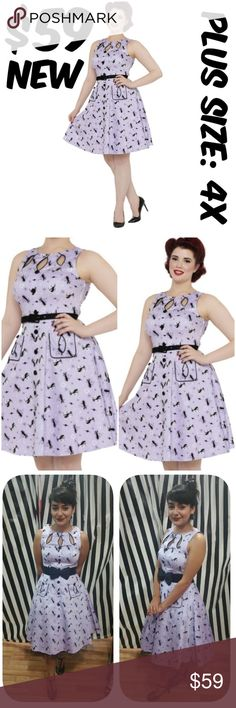 dfa3dfcdc6d6 Selling this Plus Size Voodoo Vixen Pin Up Clothing Dress Kitty on  Poshmark! My username