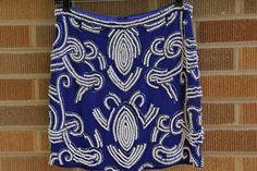 2076d9eb921 NWT~Yumi Kim~Blue Beaded Ana Mini Skirt~Small~ 225